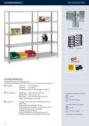 Fachbodenregale Schraubsytem - Estant GmbH