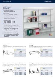 Wandregale Stecksystem - Estant GmbH
