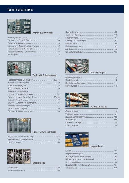 ZWEIGESCHOSSIGE REGALANLAGEN - Estant GmbH