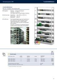 FLASCHENREGALE FLASCHENREGALE - Estant GmbH