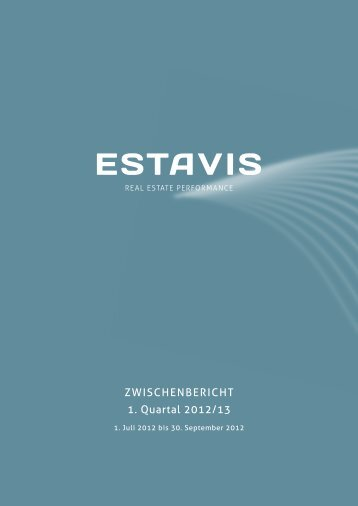 ZWISCHENBERICHT 1. Quartal 2012/13 - EquityStory AG