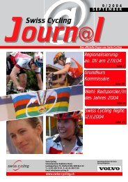 Swiss Cycling Journal 09/2004 - Velo-Moto-Club Männedorf