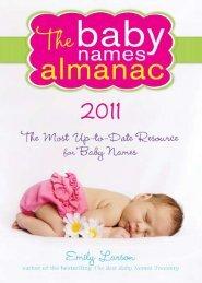 Hindi Baby Names