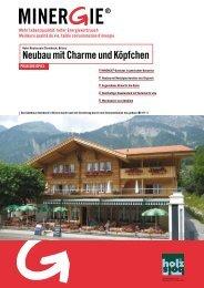 Neubau mit Charme und Köpfchen - Minergie