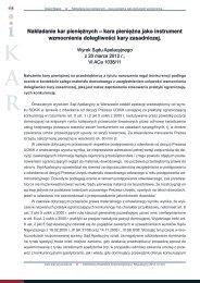 Nakładanie kar pieniężnych – kara pieniężna jako instrument ... - iKAR