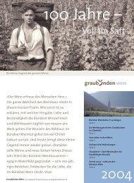 Magazin breit - Wein Fläsch