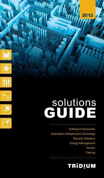 2012 Solutions Guide - Tridium
