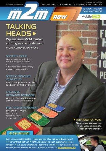 Download machine-to-machine M2M Now Magazine PDF