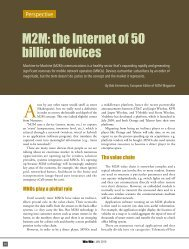 M2M: the Internet of 50 billion devices - Electric Words