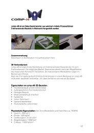 Datenblatt comp-x - sfk tischler