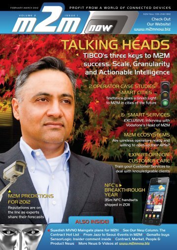 TALKING HEADS - M2M Now