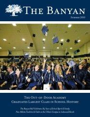 Summer 2010 - The Out-of-Door Academy