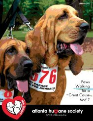 Spring Issue PDF - Atlanta Humane Society