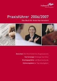 01-PX Schweiz 2006.indd - Hobsons Schweiz