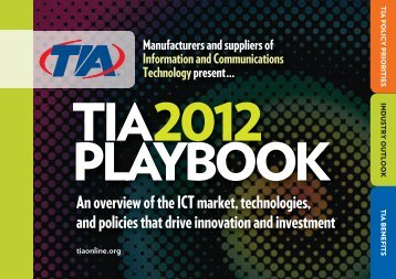 TIA PLAYBOOK - Telecommunications Industry Association