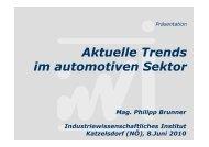 PT-netlab-100608 Folien Brunner Aktuelle Trends im automotiven ...