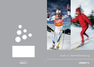 craft xc teambekleidung - Textilvertrieb.de