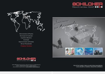 Projetos Turnkey - bei SCHILCHER Maschinenbau GmbH