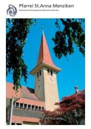 Pfarrei St.Anna Menziken - Kath. Kirchgemeinde Menziken-Reinach