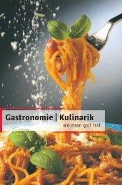 Gastronomie   Kulinarik - Woche-Blitz
