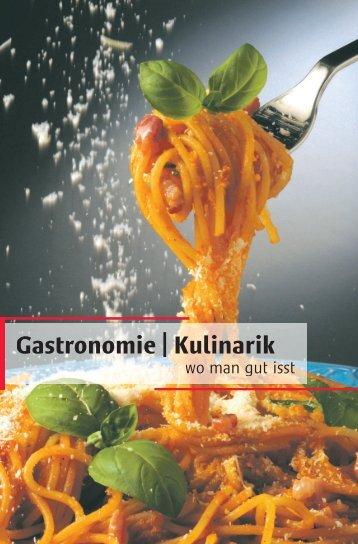 Gastronomie | Kulinarik - Woche-Blitz