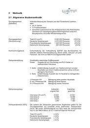 III Methodischer Steckbrief - WEMF AG für Werbemedienforschung