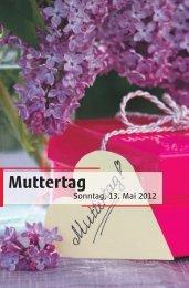 Muttertag - Wochen-Post