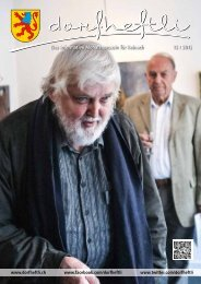 Das informative Monatsmagazin für Reinach 12 / 2012