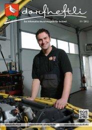 Das informative Monatsmagazin für Boniswil 11 / 2012