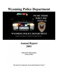 Wyoming Police Department - City of Wyoming