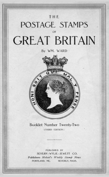 The Postage Stamps of Great Britain. - Philatelics.org