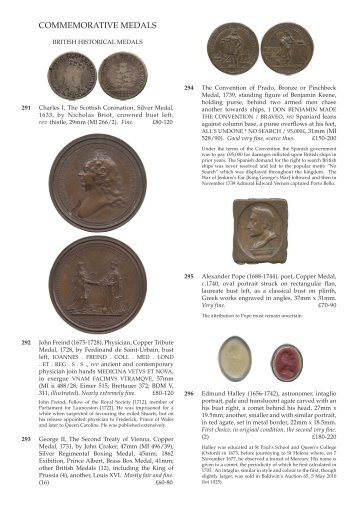 Commemorative Medals, Books and Banknotes - Baldwin's