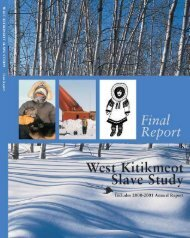 WKSS Final Report 1996-2001 - Environment and Natural ...