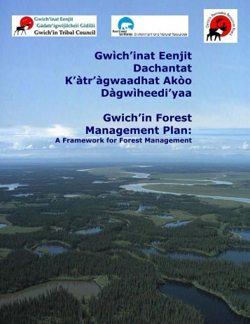 GRRB Recommended GFMP - Gwich'in Renewable Resources Board