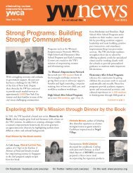 Strong Programs: Building Stronger Communities - YWCA of the City ...