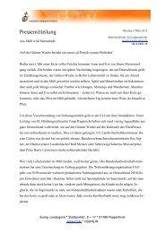 12 Pressemitteilung Vorlage - Evang. Landjugend in Bayern