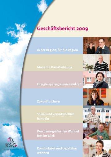 Geschäftsbericht 2009 - KSG