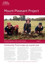 Mount Pleasant Project - Rio Tinto Coal Australia