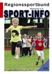 Regionssportbund 3/12 - beim Regionssportbund Hannover