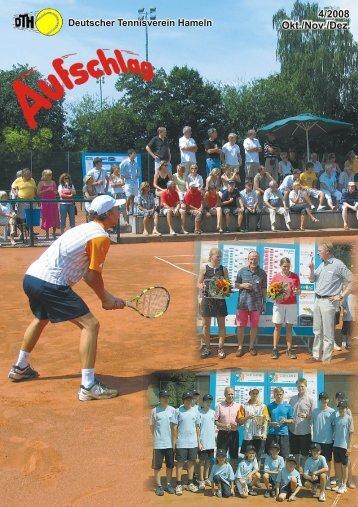 Wir zeigen Ihnen wie! - Deutscher Tennisverein Hameln