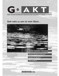 Juli/August 1998 - Gemeinde Aktuell