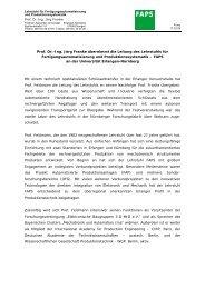 Prof. Dr.-Ing. Jörg Franke übernimmt die Leitung des ... - 3-D MID