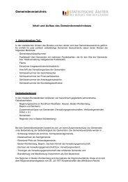Gemeindeverzeichnis - Publikationsservice von IT.NRW