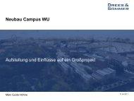 Neubau Campus WU