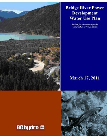 Water Use Plan - BC Hydro