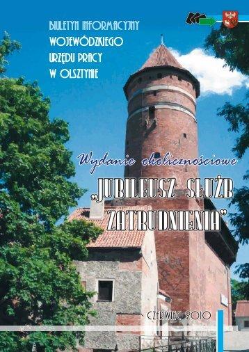 Biuletyn Informacyjny WUP Olsztyn - Wojewódzki Urząd Pracy w ...