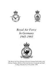 Journal 22A - RAF in Germany - Royal Air Force Museum