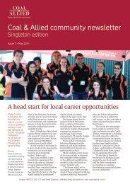 Coal & Allied Community Newsletter Singleton edition May