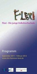 Flexi-Programm - vhs Hannover Land