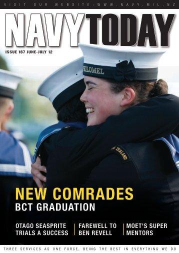 Jul 2012, Issue 167 - Royal New Zealand Navy